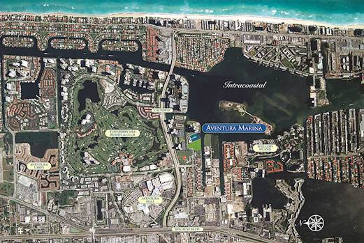 Aventura Marina Location